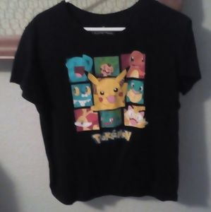Juniors black Pokemon top